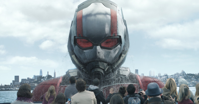 Marvel Studios' ANT-MAN AND THE WASP<br /> <br /> Ant-Man/Scott Lang in his Giant-Man form (Paul Rudd)<br /> <br /> Photo: Film Frame<br /> <br /> ©Marvel Studios 2018