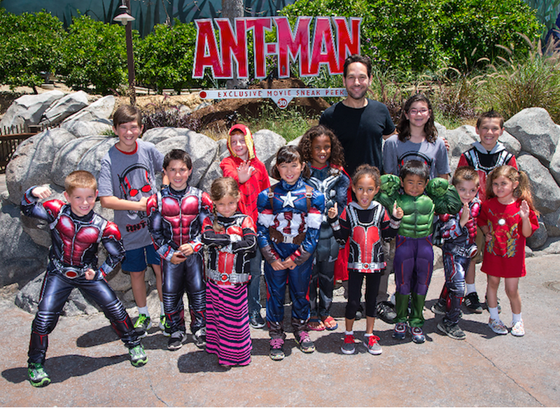 Paul Rudd surprises guests at ANT-MAN preview in DCA