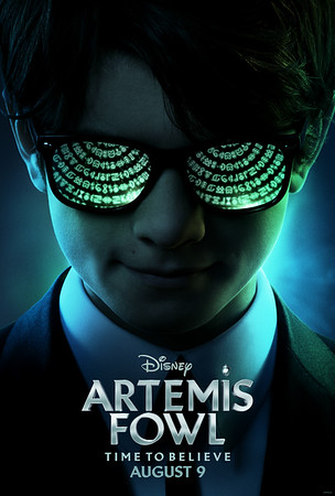 FIRST LOOK: ARTEMIS FOWL reveals teaser trailer/poster, it's time to believe!