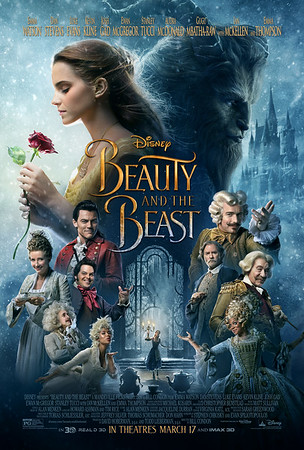 Hear more Emma Watson singing plus scope fancy new poster for BEAUTY AND THE BEAST