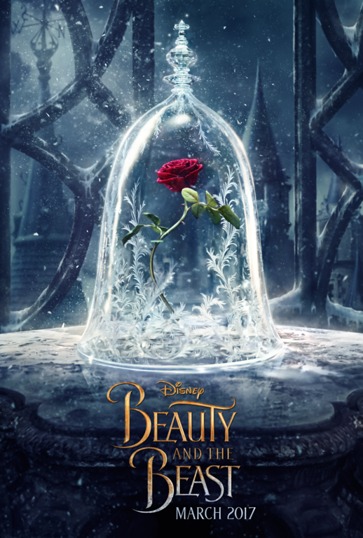 BEAUTY AND THE BEAST teaser poster is an icy magnificent wonder