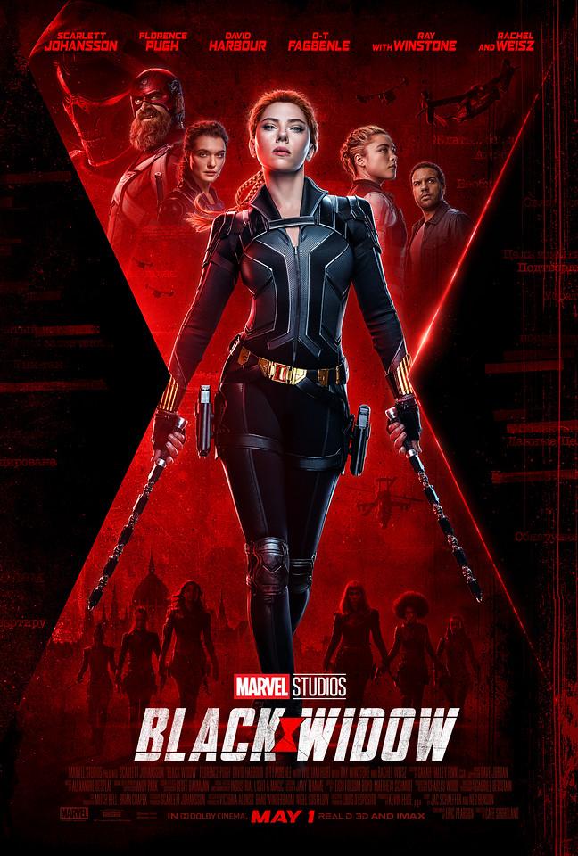 BLACK WIDOW final trailer, new poster, teases Taskmaster villain