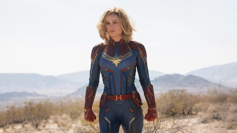 CAPTAIN MARVEL ascends on El Capitan Theatre with opening night event, displays, extras