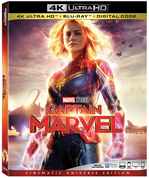 CAPTAIN MARVEL taking you higher, further, faster at home