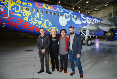 COCO is flying high in the sky with Southwest Airlines