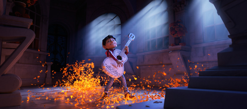Beautiful first look at Disney-Pixar's new COCO, plus more synopsis