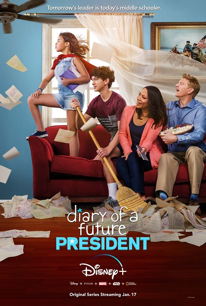 DIARY OF A FUTURE PRESIDENT reveals first trailer, new key art