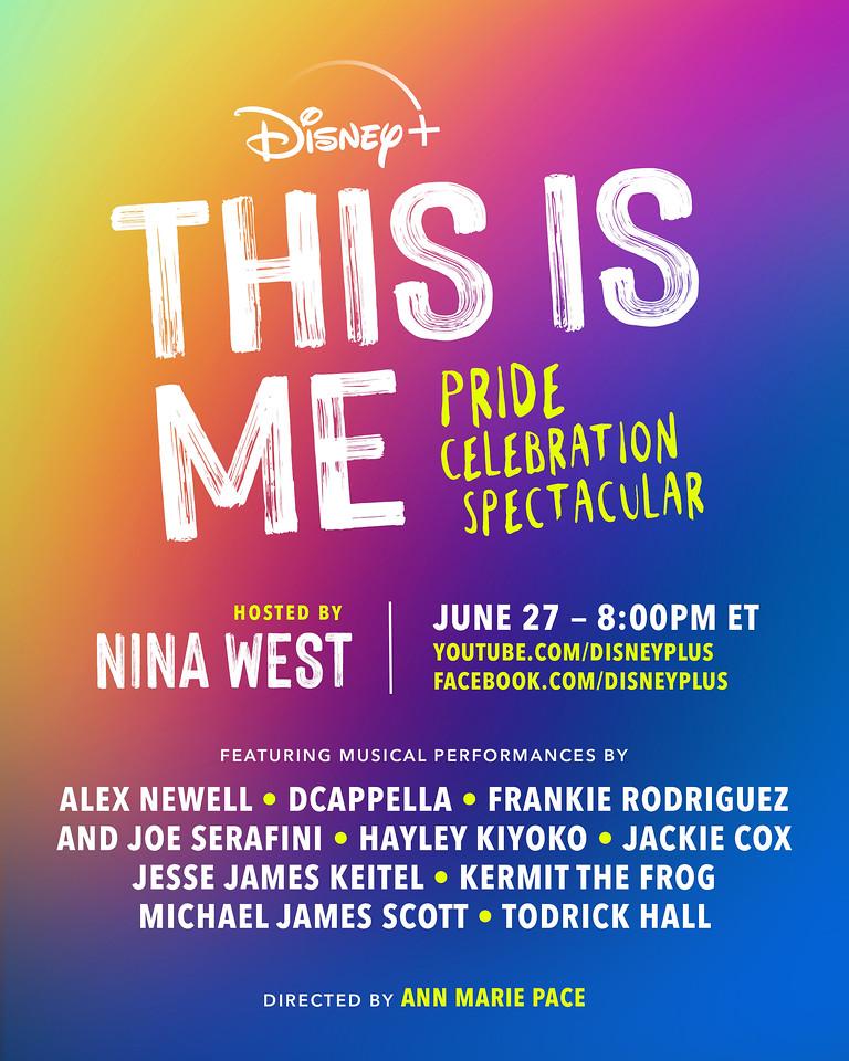 disney plus Remove term This is Me Pride Celebration Spectacular This is Me Pride Celebration Spectacular