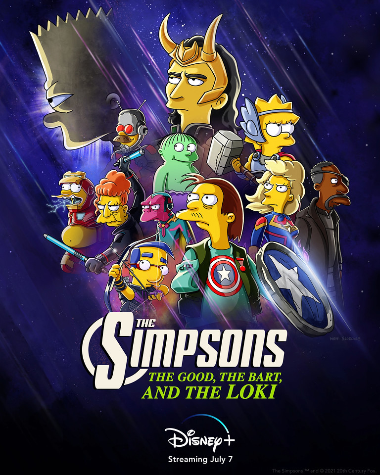 THE-SIMPSONS-animated-short-THE-GOOD,-THE-BART,-AND-THE-LOKI-coming-July-7-to-#DisneyPlus