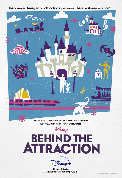 disney plus behind the attraction