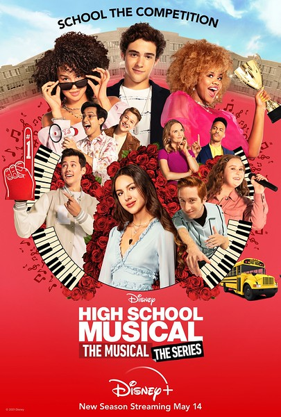 HIGH SCHOOL MUSICAL THE MUSICAL THE SERIES season two key art - horiz