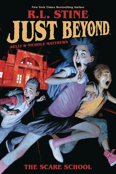JUST BEYOND series based on R.L. Stine graphic novels greenlit for #DisneyPlus