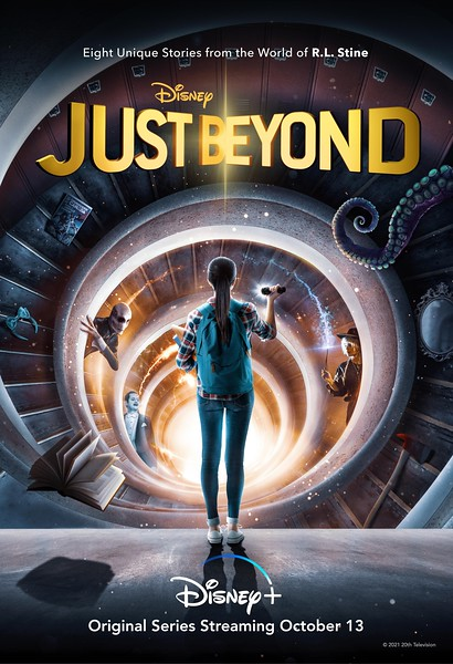 The world of R L Stine comes to life with JUST BEYOND on #DisneyPlus