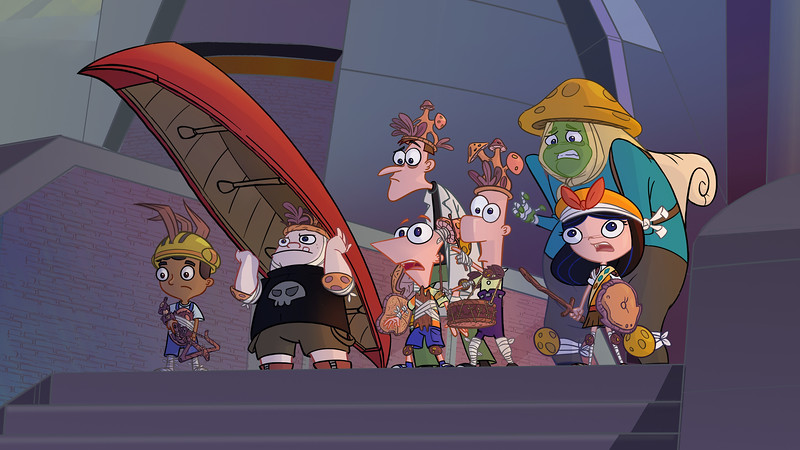 phineas and ferb candace against the universe comic con at home still (5)