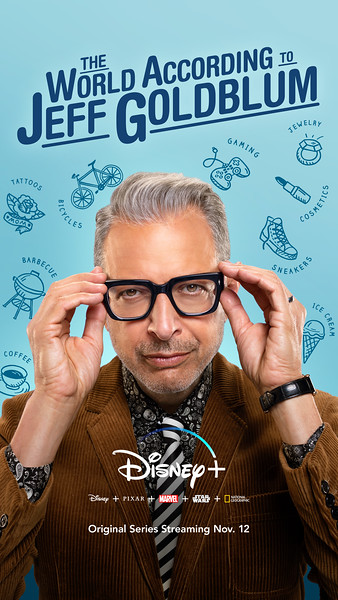 THE WOLRD ACCORDING TO JEFF GOLDBLUM confirmed for second season on #DisneyPlus