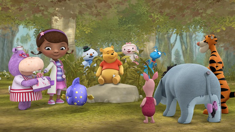 CROSS-OVER! Pooh and crew to get a visit from Doc McStuffins