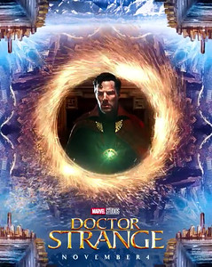 DOCTOR STRANGE unleashes dizzying animated poster