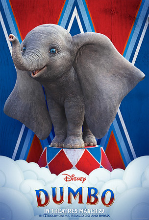 New sneak peek, posters revealed for upcoming live-action DUMBO