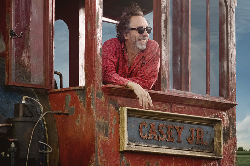 #D23Expo reveals Tim Burton teaser of production for upcoming live-action DUMBO reboot