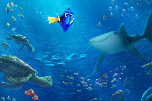FINDING DORY new trailer makes waves, first lesbian couple in a Disney-Pixar feature?