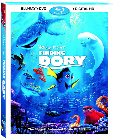 FINDING DORY keeps on swimming to the Digital (October 25), DVD, and BD (November 15)