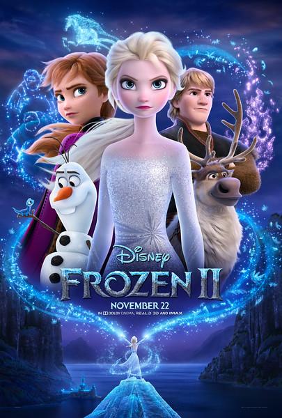 FROZEN 2 'first' listen, soundtrack listing, new stills, and new poster!
