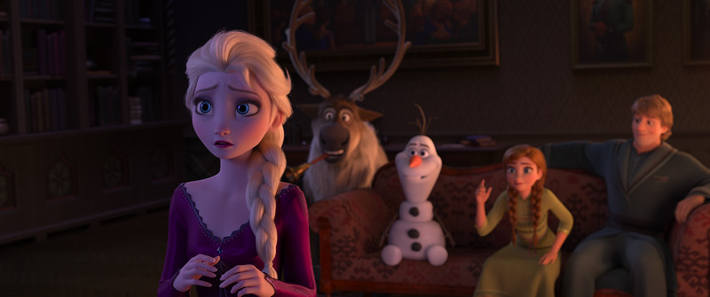 FROZEN 2 is a growth journey for Elsa, Anna, Kristoff, Olaf… and the audience