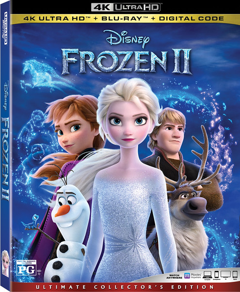 FROZEN 2 coming back home with flood of extras and goodies