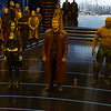 Guardians Of The Galaxy Vol. 2<br /> <br /> L to R: Gamora (Zoe Saldana), Star-Lord/Peter Quill (Chris Pratt), Groot (Voiced by Vin Diesel), Drax (Dave Bautista), and Rocket (Voiced by Bradley Cooper)<br /> <br /> Ph: Film Frame<br /> <br /> ©Marvel Studios 2017