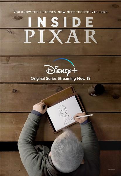 disney plus inside pixar keyart poster