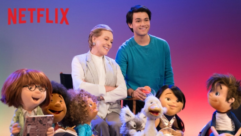 Could 'Julie's Greenroom' on NETFLIX get any more perfect? Julie Andrews, Henson puppets