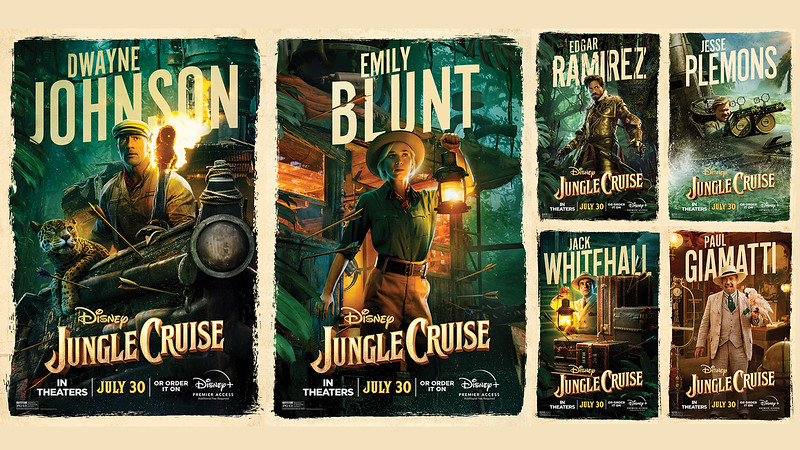 JUNGLE-CRUISE_-Character-Posters-for-Dueling-Trailers-press-blast