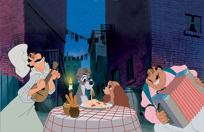 ADORKABLE: 'Lady and the Tramp' spaghetti dinner date packages return to EL CAPITAN THEATRE