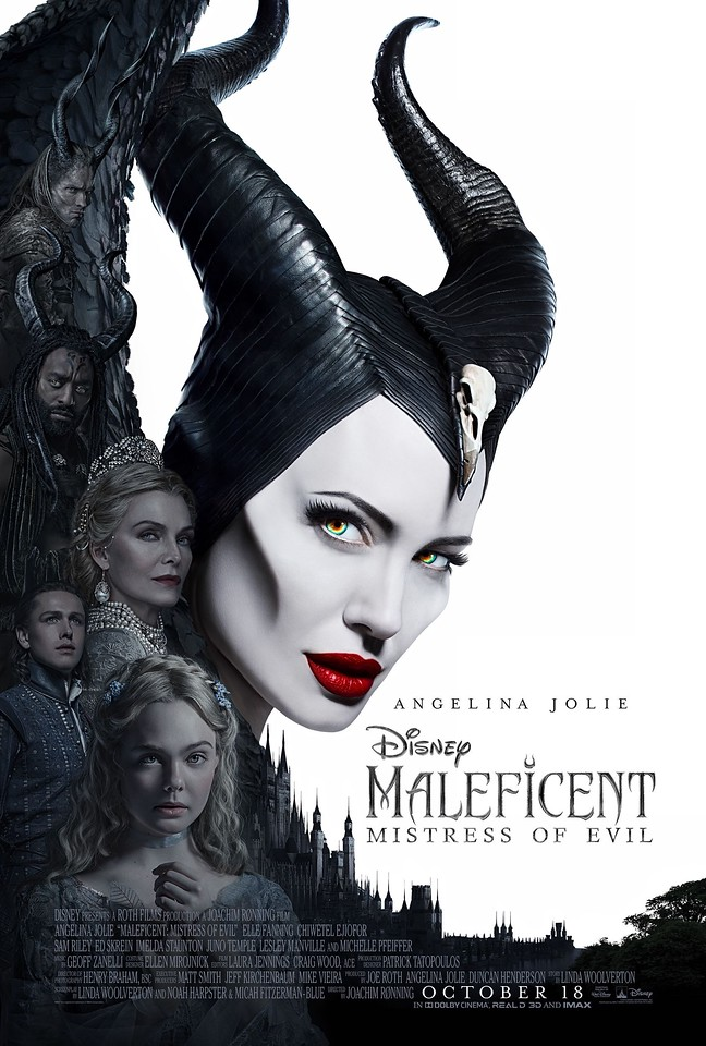 MALEFICENT: MISTRESS OF EVIL unleashes more beautiful artwork with new poster