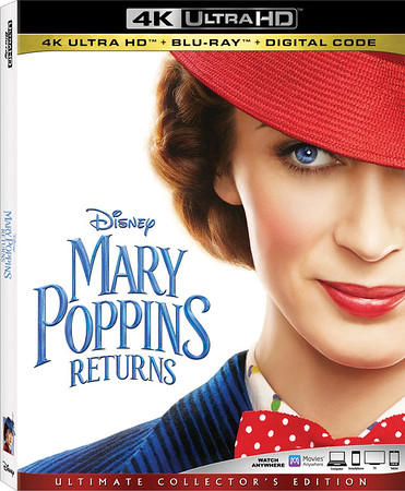 REVIEW: MARY POPPINS RETURNS comes home but is this release practically perfect?