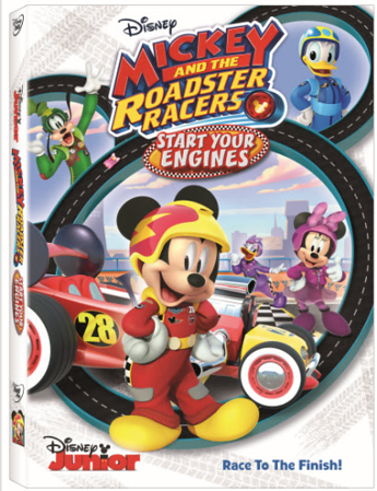 MOM'S REVIEW: Mickey And The Roadster Racers Are Geared Up For Fun!