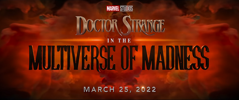 mcu phase 4 teaser (5) doctor strange and the multiverse of madnes