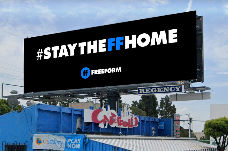Freeform encourages you to #StayTheFFHome with safer-at-home programming blocks