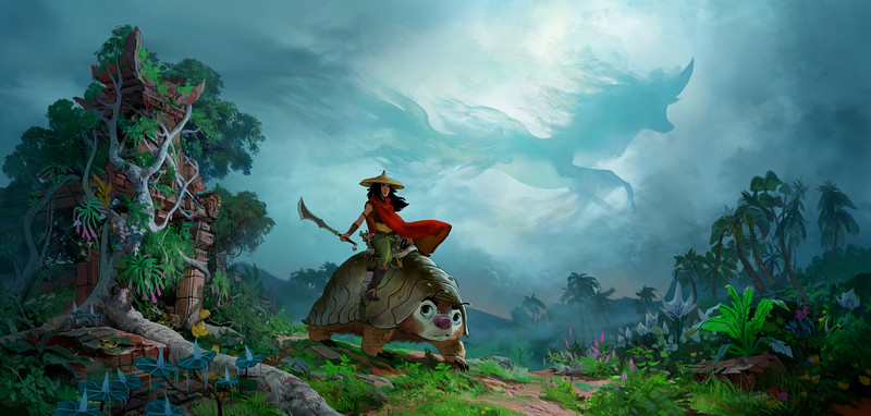 Disney drops first details for upcoming animated RAYA AND THE LAST DRAGON