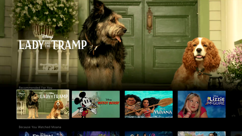 FIRST LOOK: Live-action LADY AND THE TRAMP showcases titular canines during #DisneyPlus event