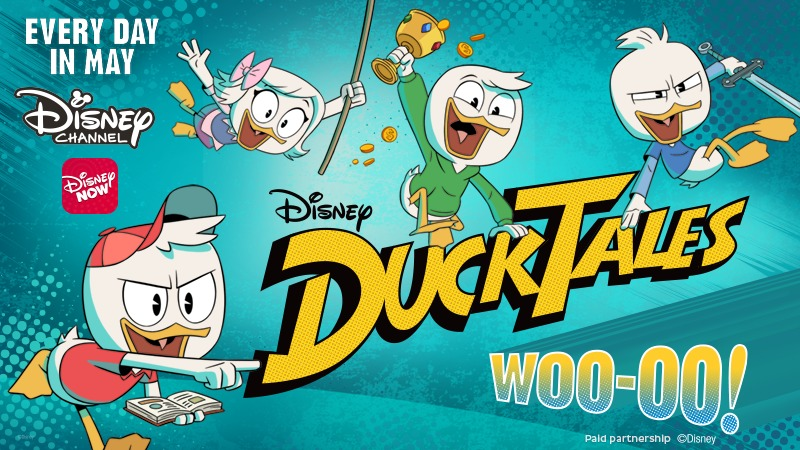 Real-world DuckTales 'trackables' invite you to start your own treasure hunt!