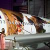 Hawaiian Airlines Moana themed plane