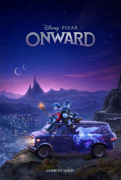 Disney-Pixar's new ONWARD offers first look images, video