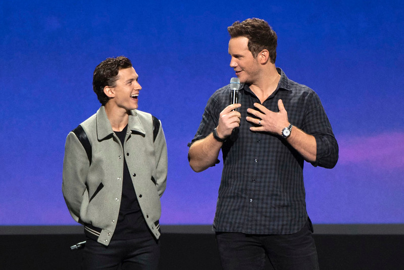 Tom Holland and Chris Pratt moving ONWARD with Pixar at #D23Expo