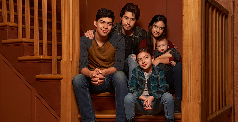 Rebooted PARTY OF FIVE gets first look photo from FREEFORM