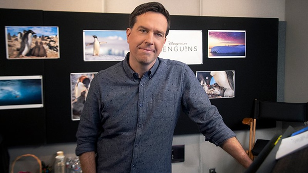 WATCH: Actor Ed Helms announces himself as the narrator for upcoming PENGUINS