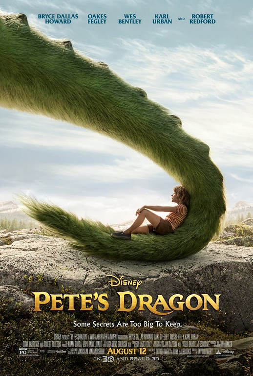 New trailer, poster for PETE'S DRAGON teases new secrets that are too big keep