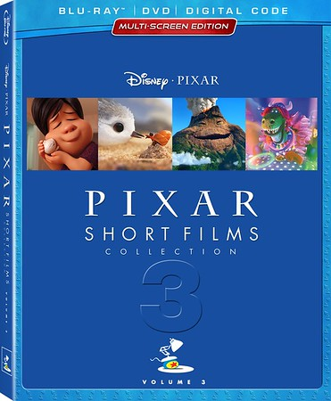REVIEW: PIXAR SHORT FILMS COLLECTION, Volume 3 brings newest classics home with extras