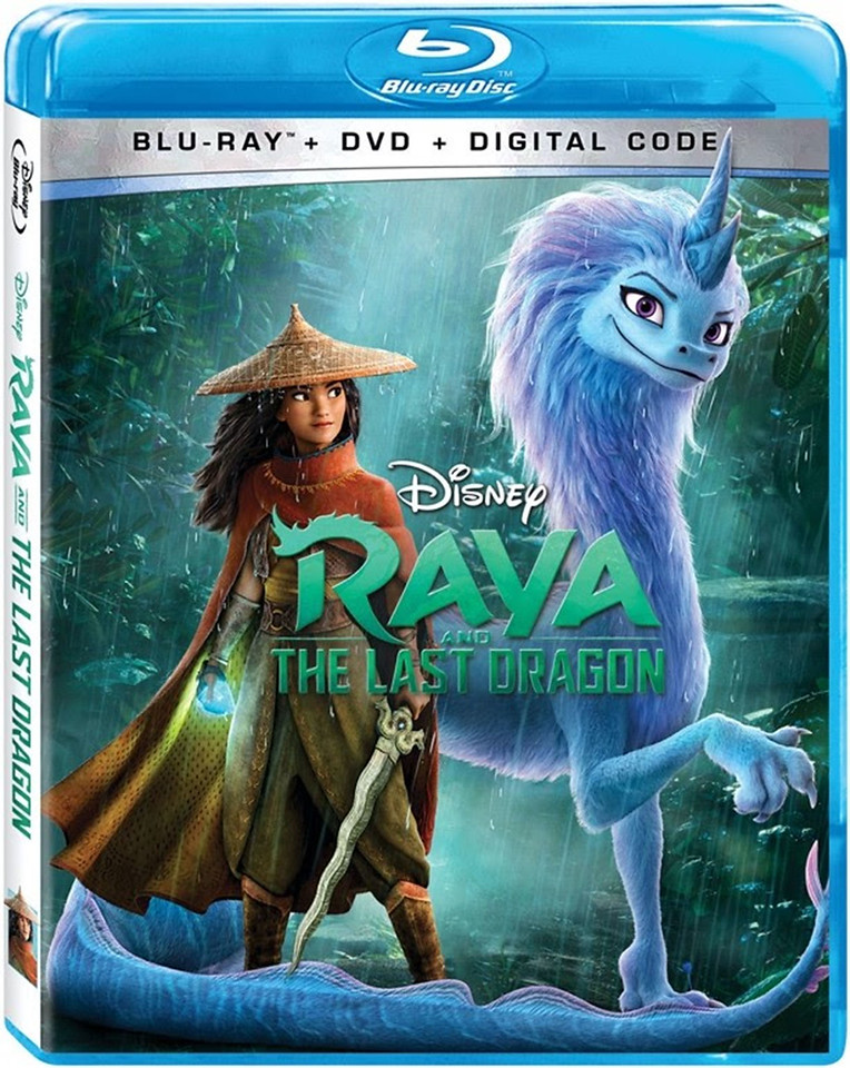 raya and the last dragon bluray