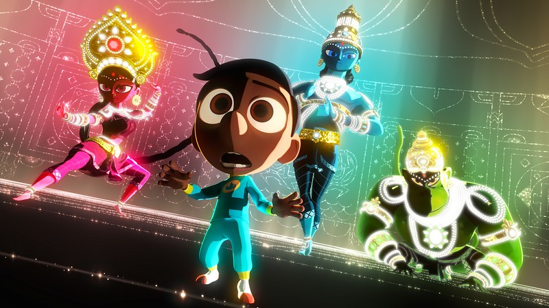 SANJAY'S SUPER TEAM first web-clip debuts